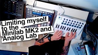 Beatmaking with MiniLab MK2 (walkthrough)