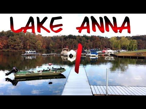 Bass Fishing Lake Anna, Virginia: Pt I