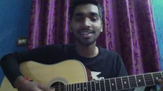 Download Hindi Video Songs - Tanu nenu cover | sahasam swasaga sagipo| guitar cover by ishaq vali