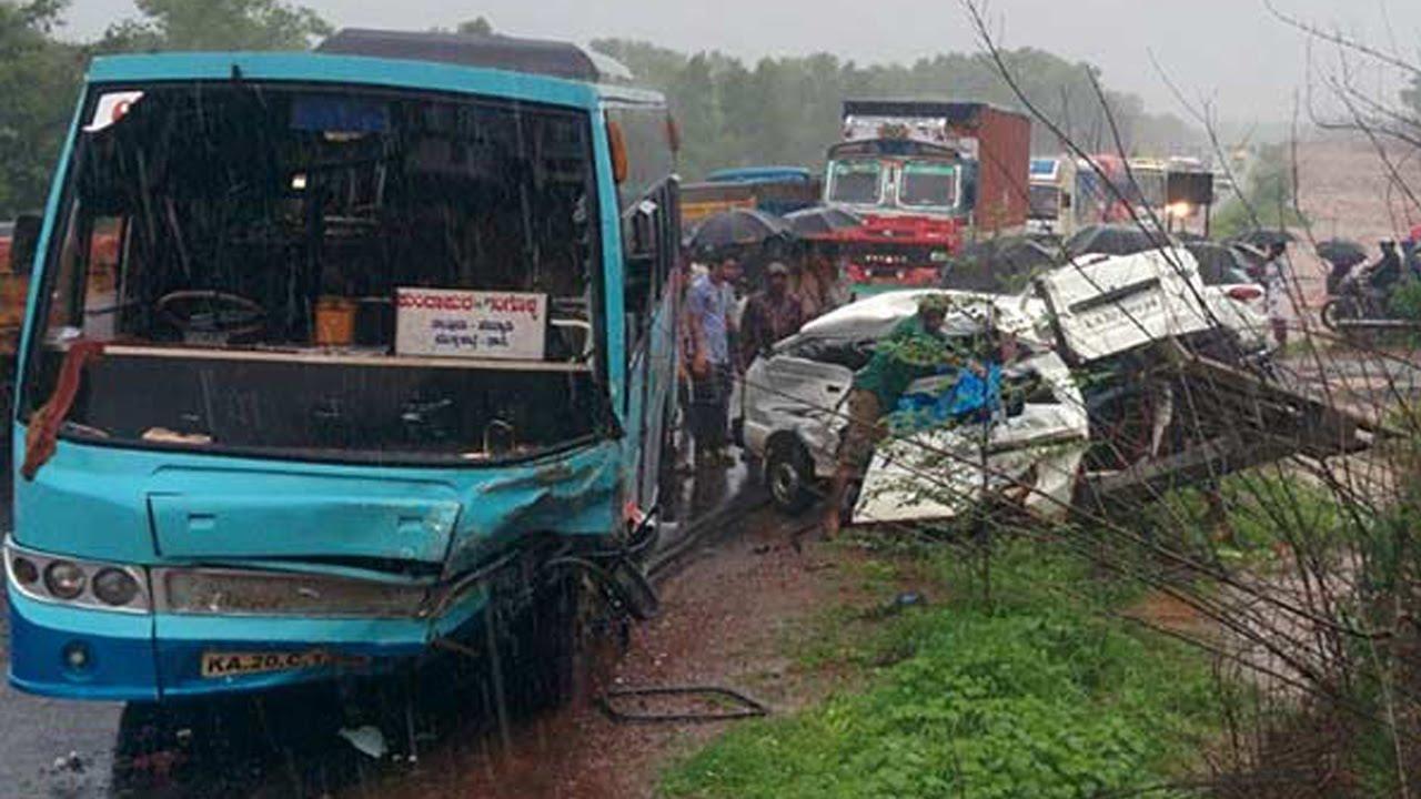 Karnataka\'s Kundapur accident : 8 school children killed in bus-van ...