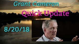 """Grant Cameron """"Should we take the aliens out?"""" (Quick Update)"""