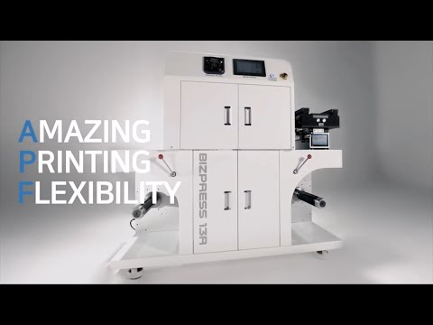 Bizpress 13R, Compact And Affordable Digital Label & Packaging Press