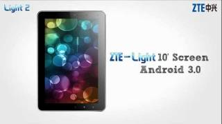 ZTE Tablet Review - Light Tab2 横