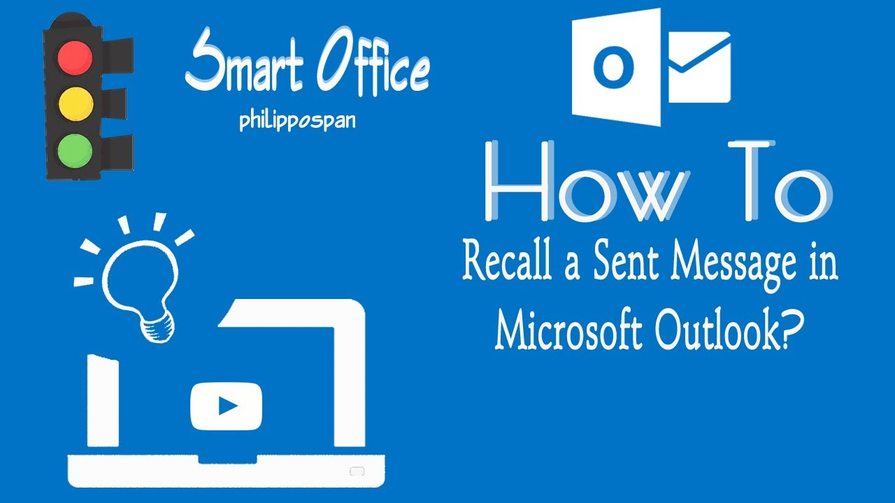 How To Recall An Email >> How To Recall A Message In Outlook 365