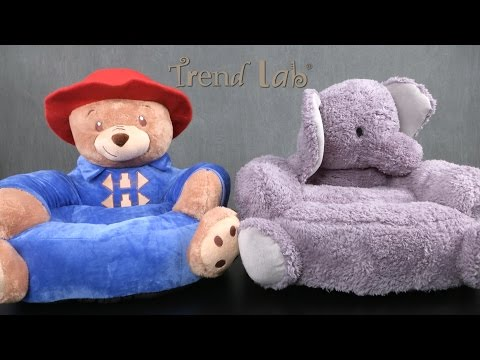 Paddington Bear & Elephant Kids Chair from Trend Lab
