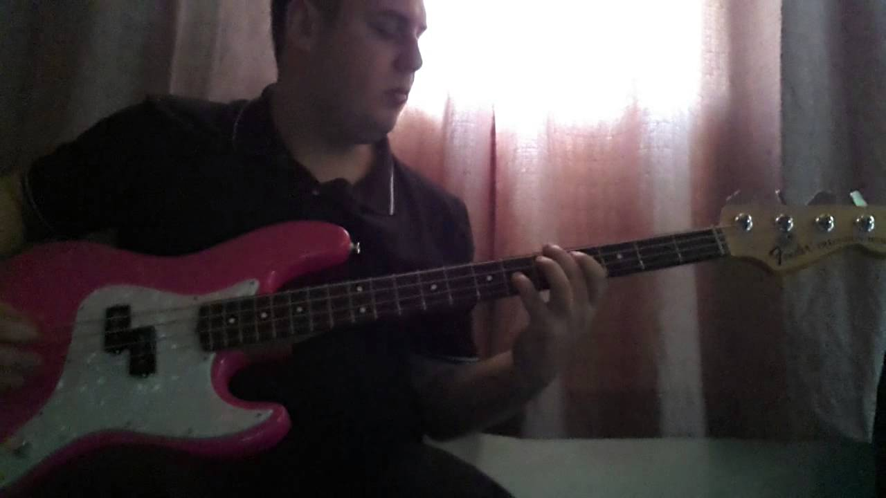 Blink 182 - What's My Age Again? (Cover - Fender Mark Hoppus Hot Pink)