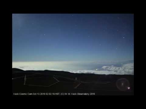 43. Ships caught on keck Observatory cam