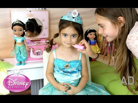 Transform Emily into a Princess-Disney Princess Range Dolls