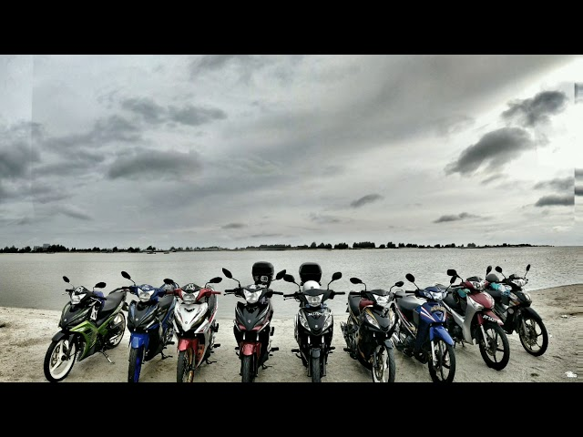 Yamaha Lc135 vs honda wave125. Memories  2017