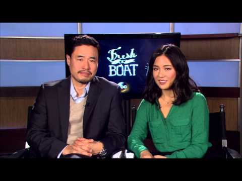 "EXCLUSIVE: Randall Park and Constance Wu talk ABC's ""Fresh Off The Boat"""
