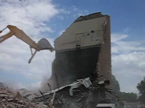 Worland Middle School Demolition #3 - August 2006