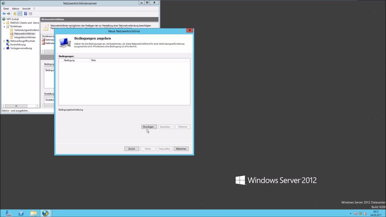 Install NPS with active directory group authentication (RADIUS Server)