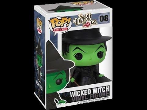 Wizard Of Oz Pop Funko Wicked Witch Review 8 Youtube