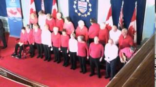 Parkgate Singers  50th Anniversary celebration of the Canadian flag