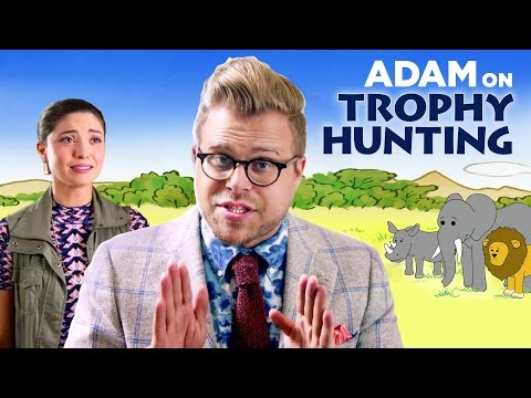 Why Trophy Hunting Can Be Good for Animals | Adam Ruins Everything