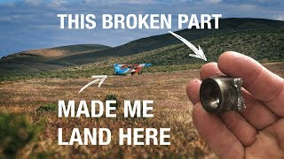 Small airplane CATASTROPHIC ENGINE FAILURE in the middle of nowhere - The Story