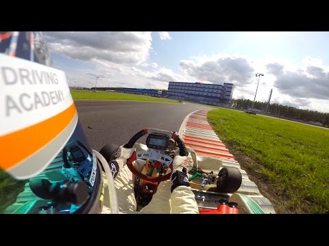 Sport&Safety. Atron International Circuit. Tony Kart KF3. 0:57:918