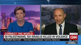Bennett on CNN: Hamas is killing its own children- using them as a human shield