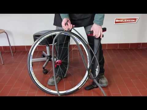 Fahrradreifen mantel aufziehen