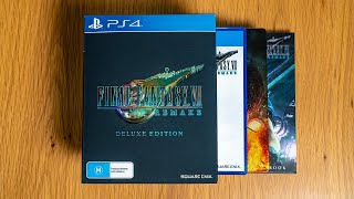 Final Fantasy 7 Remake: Deluxe Edition Unboxing Video