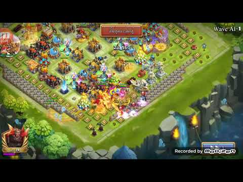 Castle Clash HBM Ai Victory Thailand Server Rank 3😎😎 And Hero Setup 29/11/18