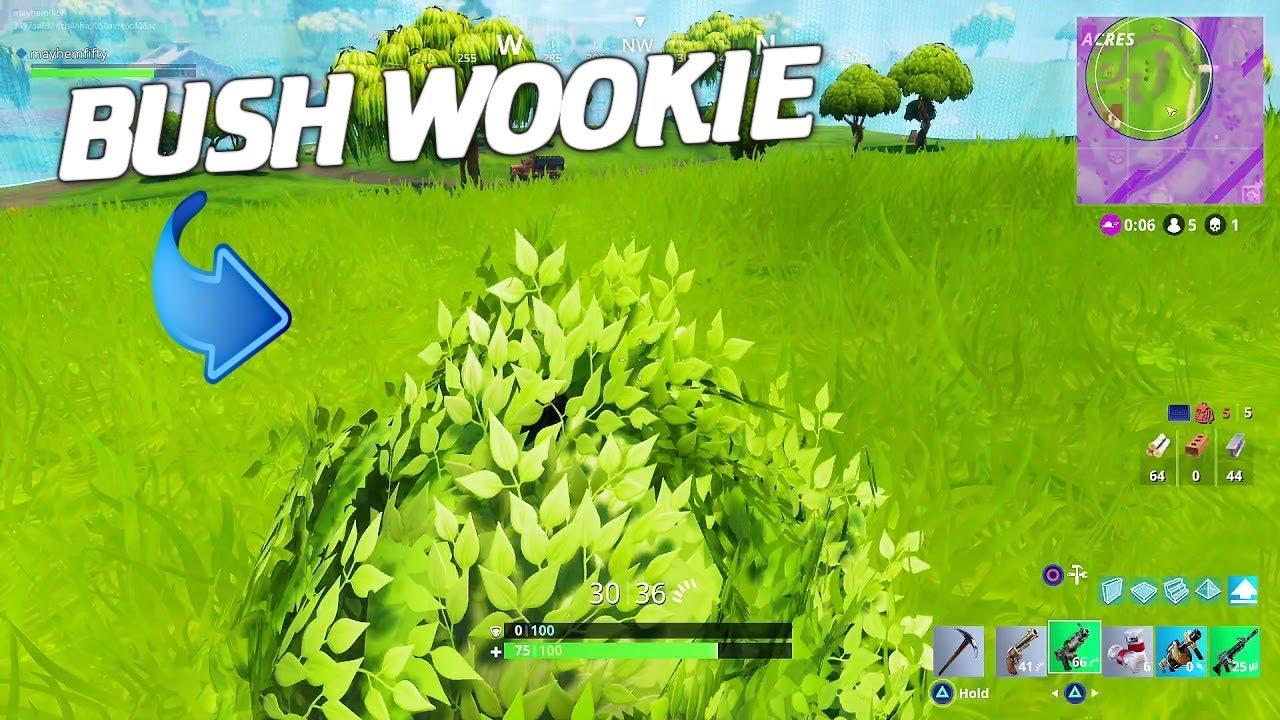 Bush Wookie Noobs Fortnite Battle Royale Youtube