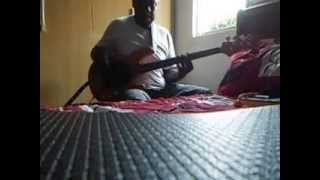 Leandro Jeronimo/Praticando escala, harmonia e groove.