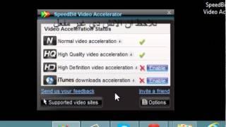 شرح تثبيت وتكريك برنامج SpeedBit Video Accelerator