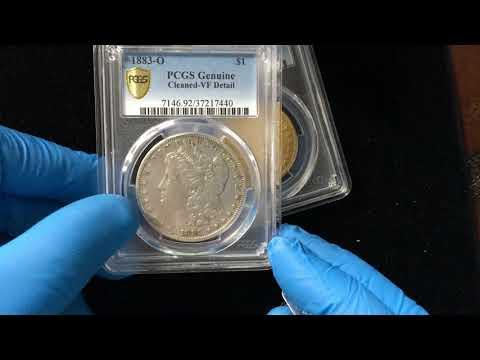 PCGS Unboxing - Rare 1797 $10 Gold Eagle & Rare Morgan Dollar Error Coin