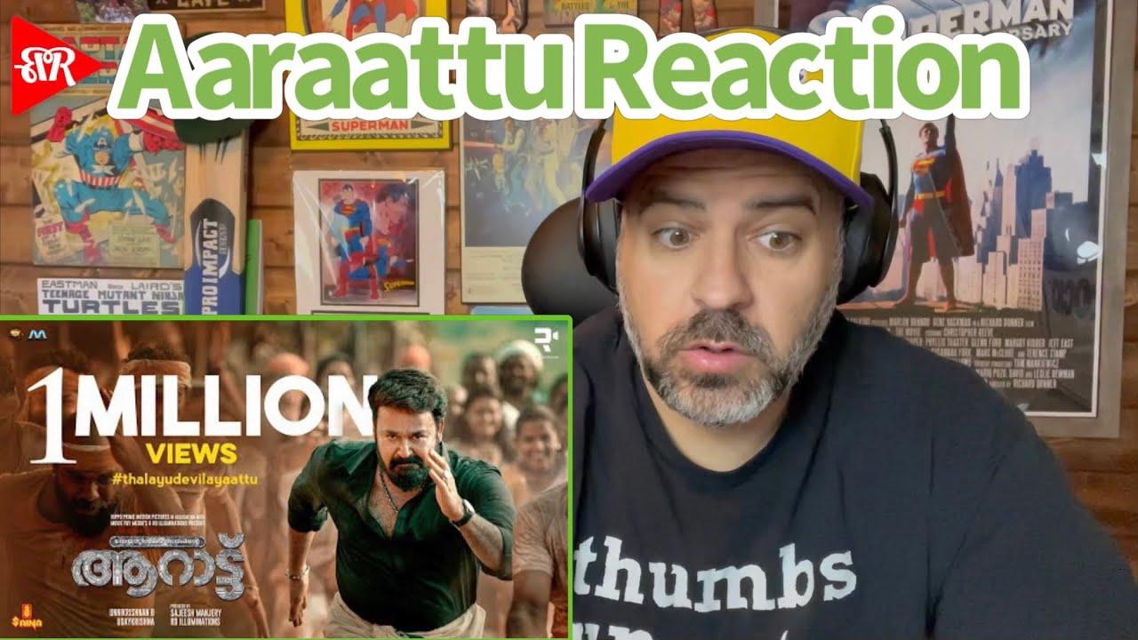 Download Aaraattu Official Teaser REACTION | Mohanlal | Unnikrishnan B | Udaykrishna | Rahul Raj