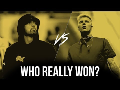Eminem Vs. Machine Gun Kelly: Who REALLY Won?