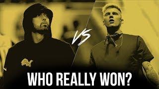 Eminem Vs. Machine Gun Kelly: Who REALLY Won?
