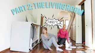 MOVING OUT Renovating the Living Room!! Ep#2