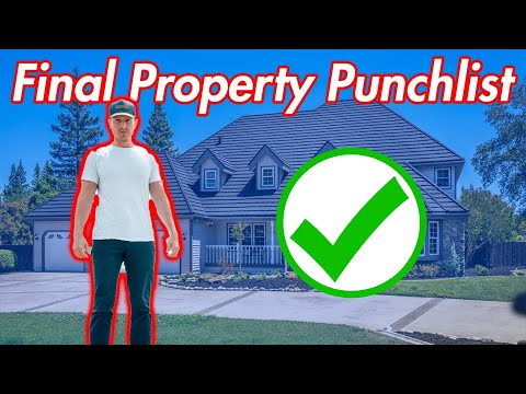 How To Do A Rehab Punchlist Walkthrough