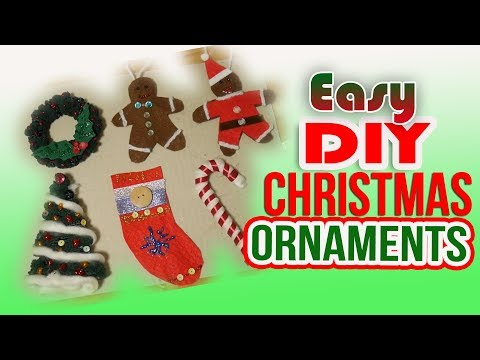 Easy to make christmas decorations for toddlers