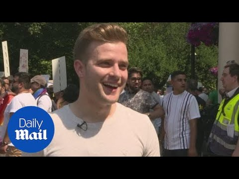 Gay man expresses feeling over attending LGBT pride for 1st time
