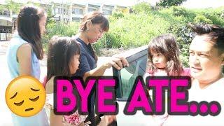 SURPRISE PROJECT! + BYE ATE! ( AT ANG REAKSYON NI SKY... )| Nina Rayos 💋
