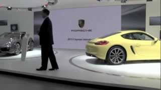 PCA Product Spotlight- 2014 Porsche Cayman World Introduction at the 2012 L.A. Auto Show