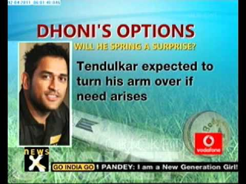 Cricket World Cup 2011: Dhoni's options against Sri lanka