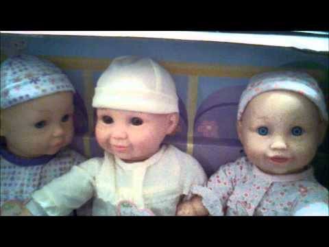cursing baby doll triplets crazy bitch You and Me Interactive Toys R us