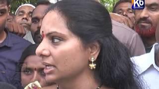 Bodhan lo Paryatinchina MP Kavitha 22/06/16