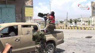 اشتباكات عنيفة في #تعز في #اليمن