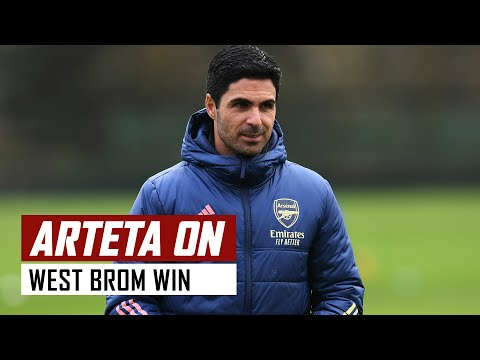 'Lacazette's been great!' | Mikel Arteta on 西布罗姆 0-4 兵工厂