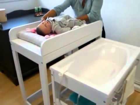 table a langer baignoire tummy tub