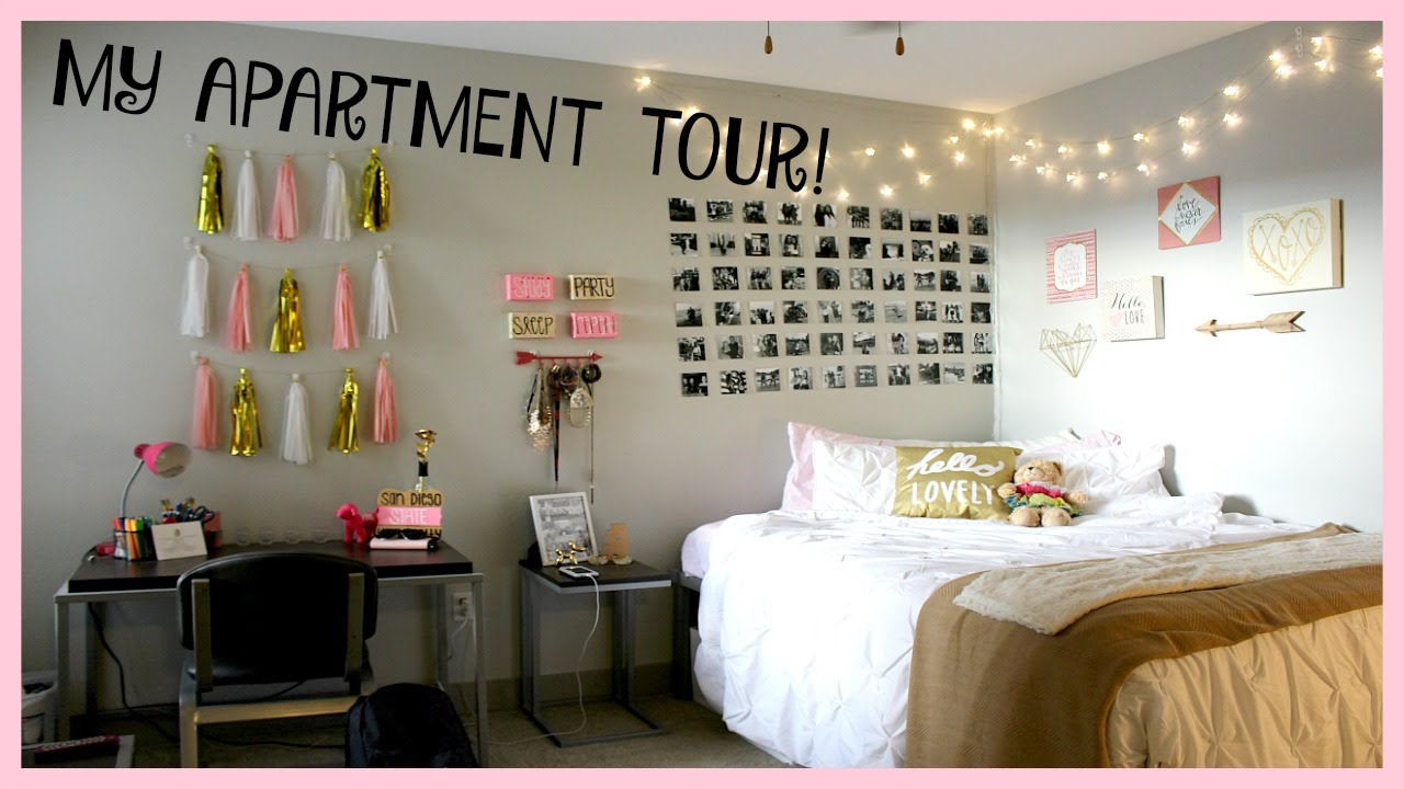 MY APARTMENT TOUR : BLVD63 By SDSU | Emily Grace Part 98