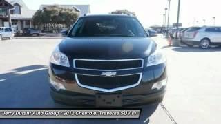 2012 Chevrolet Traverse Weatherford TX CJ310615 Video