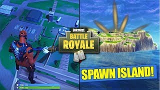 How To Go Back On Spawn Island ( New GLITCH ) Fortnite Battle Royale