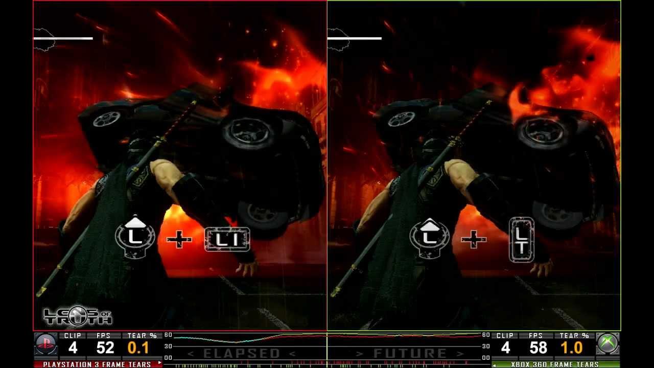 Lens Of Truth Head2head Ninja Gaiden 3 Ps3 Vs Xbox 360