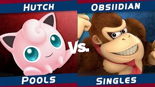 The Region Rumble #4 | Smash Ultimate | Hutch (Jigglypuff, Plant) VS Obsiidian (Donkey Kong)