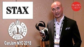STAX Headphones, CanJam NYC 2018